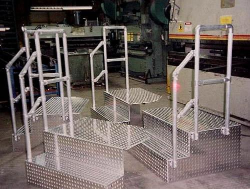 aluminum fabrication buhrt engineering machinery guards enclosures light weight hoods