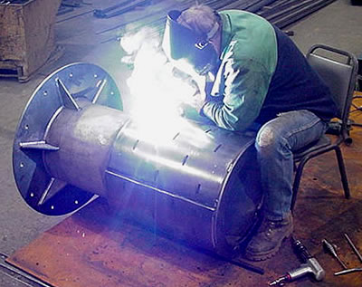Certified Steel Pipe Welding